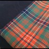 Something new today as we work with a customers own tartan and build him a new custom kilt design.