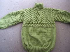Heavy knitted wool turtleneck (Mytwist) Tags: wool cozy craft celtic turtleneck rollneck rollkragen woolfetish rollerneck aranstyle elairobs