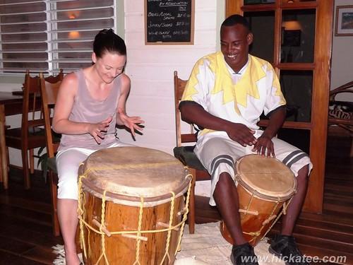 Garifuna Drumming at Hickatee