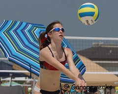Gulf Shores Beach Volleyball Tournament (Garagewerks) Tags: woman beach girl sport female court sand all child gulf sony sigma tournament volleyball shores f28 70200mm views50 views100 views200 views150 slta77v