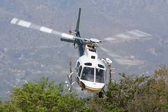 Riverside County Sheriff (Trent Bell) Tags: california county riverside aircraft airshow helicopter socal sheriff eurocopter astar 2014 as350b3 hansendam americanheroes n994sd