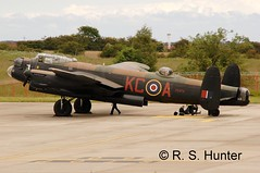 Right Place, Right Time (Rob390029) Tags: newcastle airport memorial force britain air flight royal battle cargo international static lancaster propellers bomber idle propeller prop raf avro kca ncl bbmf egnt ps474