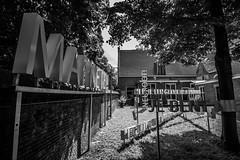 (McQuaide Photography) Tags: blackandwhite bw holland haarlem netherlands monochrome museum canon eos blackwhite europe interior nederland wideangle dslr uwa wideanglelens dolhuys ultrawideangle 100d 1018mm hetdolhuys mcquaidephotography nationalmuseumforpsychiatry