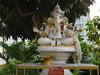 Hindu elephant headed god Ganpati in this wat in CM (shankar s.) Tags: thailand southeastasia buddhism ganesh chiangmai wat hinduism highstreet buddhisttemple hindureligion ganpati norththailand buddhistshrine buddhistreligion watsrisuphan chiangmaistreet buddhistfaith hinduelephantheadedgod silverubosot chiangmaitraffic downtownchiangmai