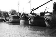 Boats (HeevixPhotography) Tags: haven netherlands amsterdam boats photography fotografie harbour nederland railway boten spaarndammerbuurt spoor houthaven heevix