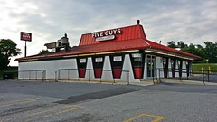 Five Guys in a former Pizza Hut (SchuminWeb) Tags: county food building westminster june architecture buildings shopping restaurant drive store md boulevard village yum conversion malcolm state ben recycled five web restaurants fast maryland guys center baltimore pizza route hut fries burgers lane converted routes carroll pizzahut stores blvd brands 97 140 reused 2014 fiveguys fiveguysburgersandfries fiveguysburgersfries schumin schuminweb jermor