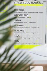 Menu at pop up beachrestaurant Glow (VISITFLANDERS) Tags: up restaurant glow belgium pop gastronomy flanders linkeroever artcity woutbru visitflanders