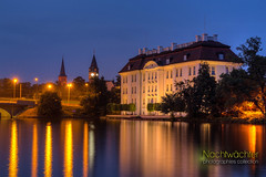 Schloss Kpenick (Nachtwchter) Tags: berlin castle nightshot schloss dri hdr nachtaufnahme kpenick tonemapping langebrcke