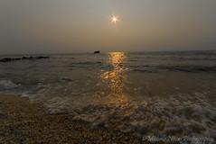 Sunset Remains (MNixonPhoto) Tags: sunset summer beach stone newjersey nj coastal shipwreck capemay atlantus jerseyshore concreteship ussatlantus