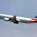 American Airlines Boeing 777-200ER departing LAX  (N761AJ)