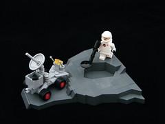 Radar Truck (DarthNick) Tags: classic truck lego space rover spaceman cs neo radar ncs