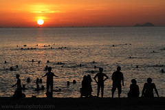 Nha Trang sunrise, Vietnam (Dan van Orsouw) Tags: china sea beach canon island eos coast is war asia south border north pass east vietnam viet 7d l 24 mm 24mm usm 105 van hai indo f4 nam trang nha indochina f40 sout 105mm f4l 24105mm f40l