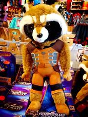 Rocket Raccoon (thatboythatgirl) Tags: comics galaxy stuffedanimal rocket raccoon marvel cameltoe guardians guardiansofthegalaxy