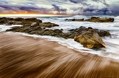 Umdloti - South Africa (Hstogrm) Tags: sea rocks scape absolutegoldenmasterpiece