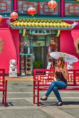 Shade in Chinatown (EWill20) Tags: california beautiful losangeles chinatown vivid hdr ewill20 ericwillard