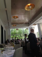 Jean Georges restaurant, Trump Hotel, New York, 3 star michelin!