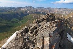 Geissler Mountain Summit (Matt Thalman - Valley Man Photography) Tags: mountain snow clouds landscape colorado rocks unitedstates hiking places summit 13er elkrange elkmountains geisslermountain