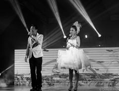 Getai Interaction 20 - Monochrome (gunman47) Tags: b bw white black monochrome festival sepia mono singapore asia w ghost east singer hungry veteran sg tampines n2 uniquely getai
