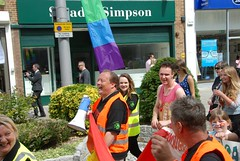 "Happy faces at Plymouth Pride Parade • <a style=""font-size:0.8em;"" href=""https://www.flickr.com/photos/66700933@N06/14880237412/"" target=""_blank"">View on Flickr</a>"