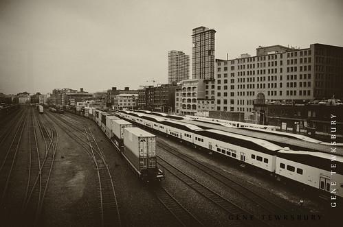 Vancouver Train Yard