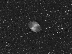 "Nbuleuse plantaire Messier 27 dans la constellation du ""Petit Renard"" (bernardparis33) Tags: astrometrydotnet:status=solved astrometrydotnet:id=nova896317"