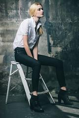 Alena (isayx3) Tags: texture fashion wall studio nikon einstein alena z tones nous f28 d3 eyeliner 80200mm onelight plainjoe softlighter isayx3 plainjoestudios plainjoephotoblogcom isayx