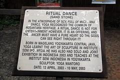 """Ritual Dance"" (Ahmad Fuad Morad) Tags: sarawak sarawakculturalvillage ritualdance tamanbudayasarawak yogawantoro"