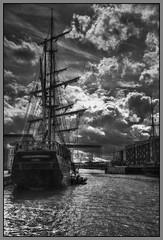 Earl of Pembroke (pentaxian666) Tags: nikon gloucester dramaticsky tallships sailingship d810 gloucesterquays 24120mmf4