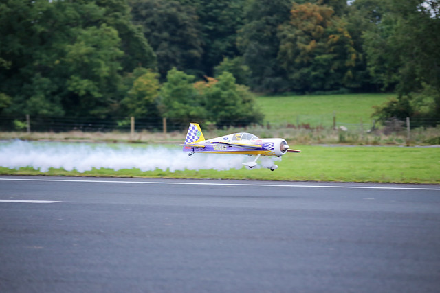 Phil pushing the Hangar 9 Carden Yak to the limits.