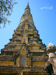Stupa of King Sisowath Monivong in Oudong, Cambodia