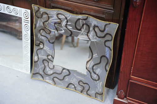 Metal Ornate Mirror €10