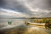 A lake (Nejdet Duzen) Tags: trip travel lake reflection turkey boat cloudy türkiye göl yansıma turkei seyahat manisa bulutlu gölmarmara