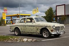 Volvo Amazon (Burminordlicht) Tags: old volvo veteraner schweden sweden sverige classiccar vintagecars rust rustycar rost rostkiste rostbeule rostig rostauto rostlaube schrottkiste scrapcar scrap scrapyard