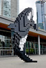 Vancouver, BC - Day 1 (bl____d) Tags: city canada mountains art vancouver rockies bc britishcolumbia pixel rockymountains scultpure discover digitalorca