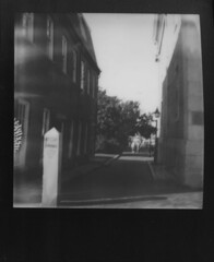 (JoexEdge) Tags: white cinema black project polaroid sx70 mas homeless frame beverly sonar mass cabot newburyport impossible newburry