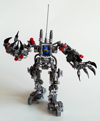 Benny Exosuit (keithburden) Tags: classic lego space benny modified custom ideas exosuit