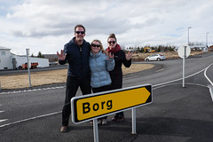 Welcome to Borg (_Codename_) Tags: startrek sign yellow island iceland ryan borg cecilia arrow jacquie rayban raybans