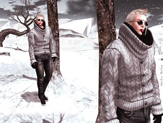 Mortis From <MK> Atelier - Sean Sweater (Mat Kungler Atelier) Tags: life texture jock leather animal sign shirt neck print boot hoodie sweater shoes tank pants mask underwear mesh lace top coat avatar contest tshirt wear clothes collection mat trench jeans shirts jacket gloves thong short mens second denim zodiac plaid hud brief month acessories couture chaps mk tanga haute luomo atelier sleeves hoddie swinwear toptank of mguy kungler suitunder