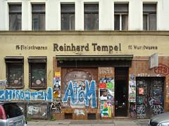 ff. Fleischwaren Reinhard Tempel ff. Wurstwaren (Florian Hardwig) Tags: leipzig butcher storefront lettering ghostsign
