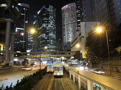 Tramway  (Melinda ^..^) Tags: city heritage hongkong track traffic central tram mel transportation vehicle melinda   tramway  chanmelmel