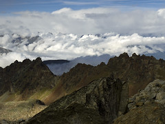017 - un mare di nubi ci circonda (TFRARUG) Tags: alps alpine alpi valledaosta valdaosta arbolle lagogelato emilius ruthor leslaures trecappuccini