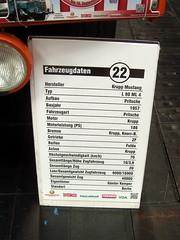 Krupp Mustang Bj. 1957 (bayernernst) Tags: truck deutschland hannover september oldtimer messe iaa lkw krupp 2014 niedersachsen kfz nutzfahrzeuge bssing kraftfahrzeug nutzfahrzeug kraftfahrzeuge messehannover nutzfahrzeugiaa kruppmustang 29092014 bssing1200 sn203786 kruppl80ml
