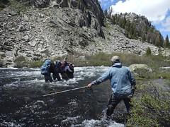Eddyline Crossing of Pole Creek