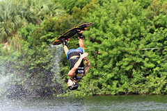 Parker Siegele in action (taddzilla) Tags: water wake florida helmet flip wakeboard trick inverted ftlauderdale allrightsreserved wwa 2014 inair millspondpark supraboats parkersiegele wwawakeboardworlds