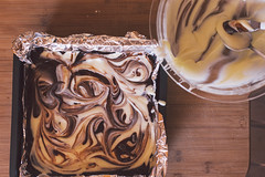 Cheesecake Brownies (cozinhadalbo) Tags: cheese dessert baking sweet chocolate cream cheesecake brownie doce sobremesa cozinhadalbo