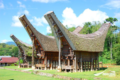 Tana Toraja Traditional House, Indonesia