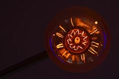 20140820-C-03_Arty Fancy Light Bulb (gary.hadden) Tags: light abstract bulb multicoloured element filament restaurantlighting