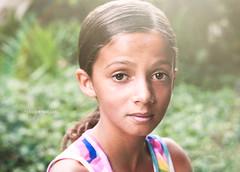 24 / 52  Bry (*KIKITA*) Tags: girls cute girl beautiful female 50mm little outdoor tanktop biracial darkhair 50mm18 darkskin nikond90