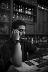 The Call (Federico Guarducci Photo's) Tags: blackandwhite black canon persona la blackwhite call cellulare canon5d bianco bianconero biancoenero daniele thecall chiamata chiamare canon5dmk1 4sigma 30f14sigma30f1