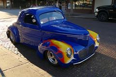 FLamed Willys Coupe (bballchico) Tags: flames hotrod coupe willys dragcar fridaynite centraliawashington billetproofwashington
